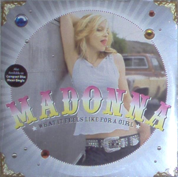 Madonna What+It+Feels+Like+For+A+Girl(Usa+2001+Ltd+8-Trk+12''+Double+Pack+Ps-Sealed) 12''