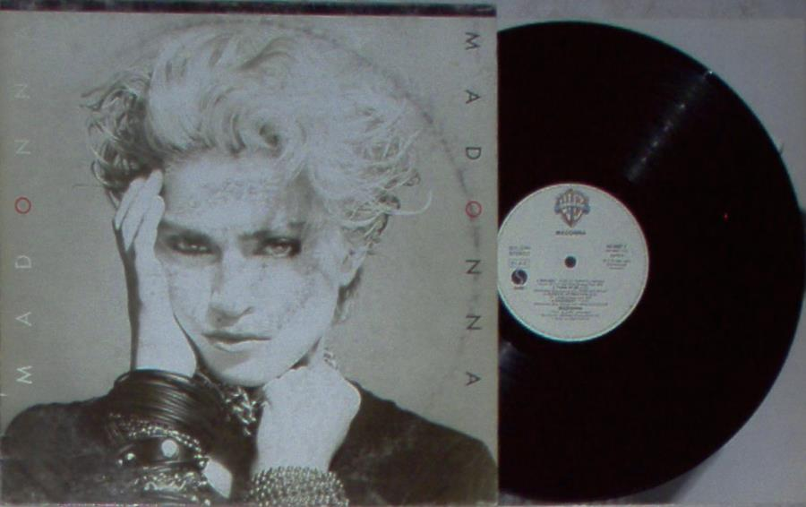 Madonna Madonna(Italian+1984+Original+8-Trk+Lp+On+Wb+Lbl+Ps+And+Inner+Slv) LP