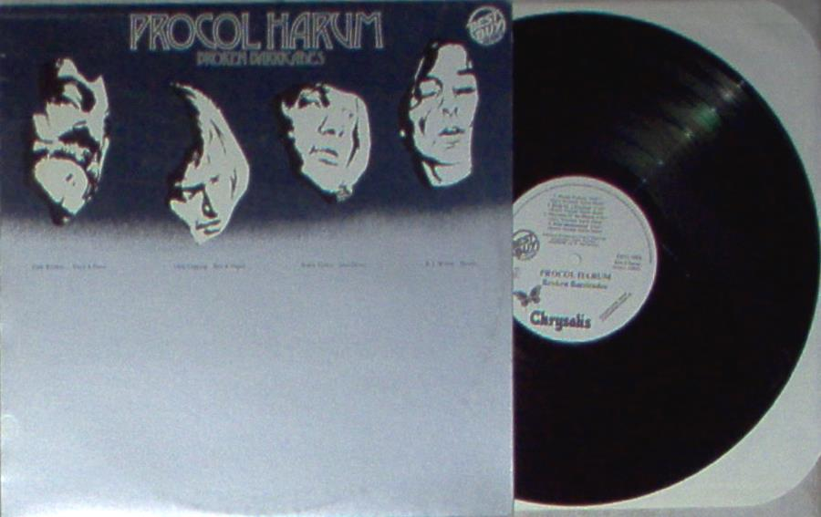 Procol Harum Broken+Barricades(Italian+1982+'Best+Buy+Series'+8-Trk+W/Label+Lp+Promo+Full+Ps) LP