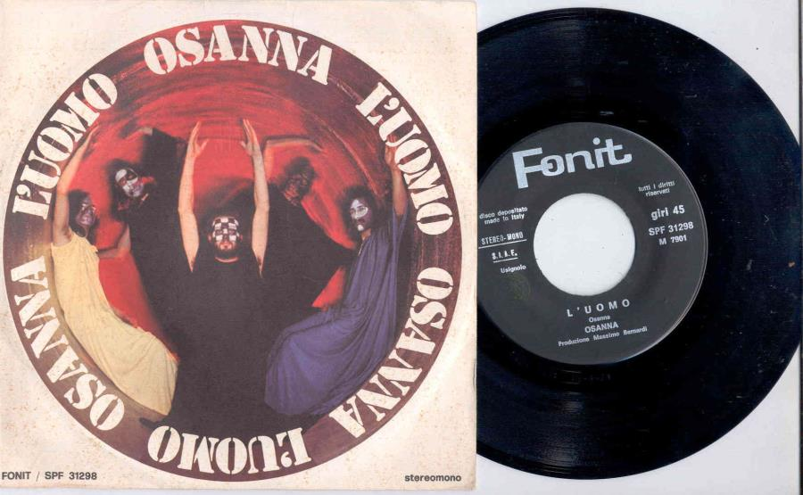 images of L'uomo(italian 1972 2-trk 7 single full ps) FONIT CETRA