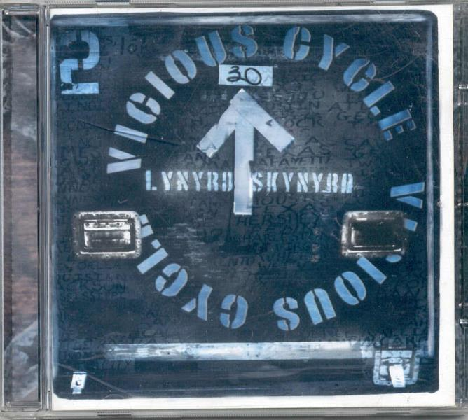 Lynyrd Skynyrd Vicious Cycle(Uk 2003 15-Trk Cd Album Ps And Booklet) CD