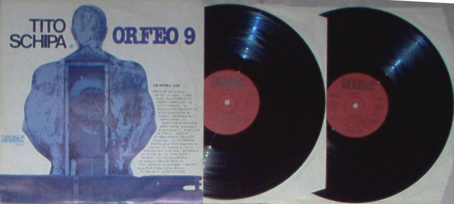 images of Orfeo 9(italian 1978 2lp set on double music lbl full gatefold ps) FONIT CETRA