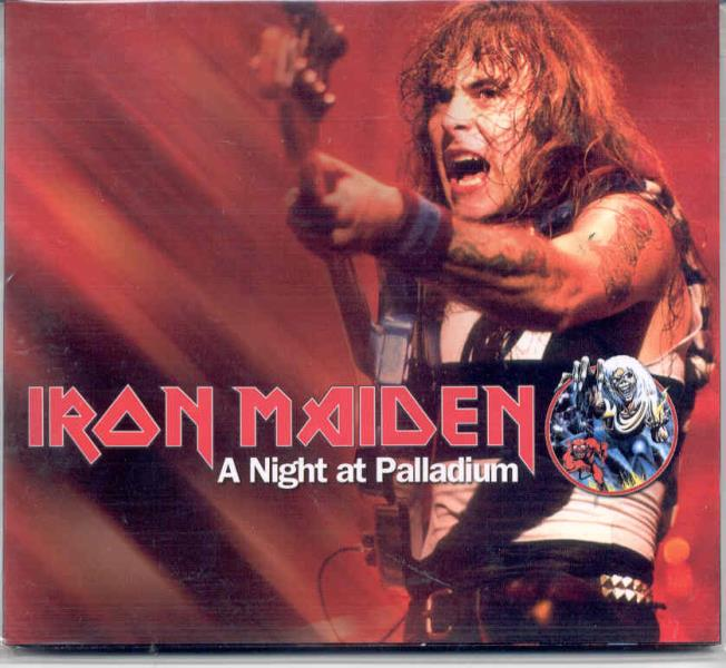 Iron Maiden Night+At+Palladium(New+York+Palladium+29+June+1982) CD