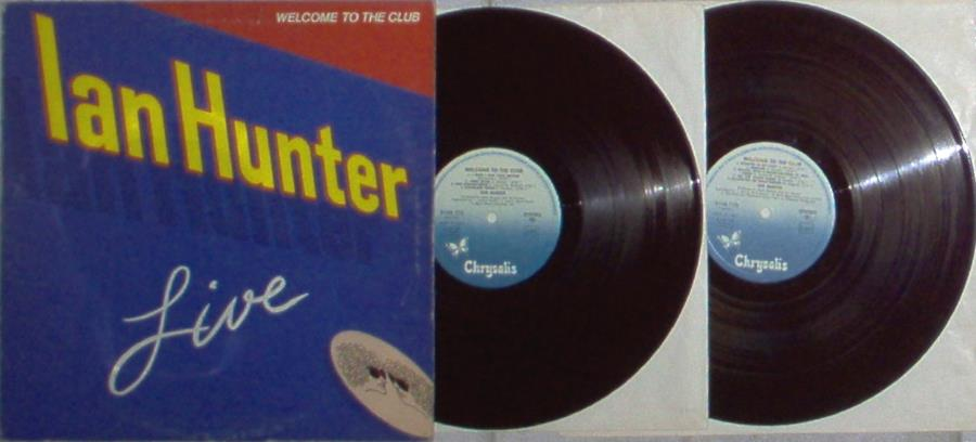 Mott The Hoople / Ian Hunter Welcome To The Club(Italian 1980 18-Trk 2lp Set Full Gatefold Ps) LP