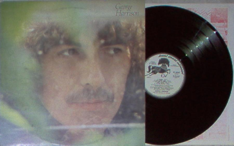 Harrison,George George+Harrison(Italian+1979+10-Trk+W/Label+Lp+Promo+Ps+And+Inner+Slv) LP