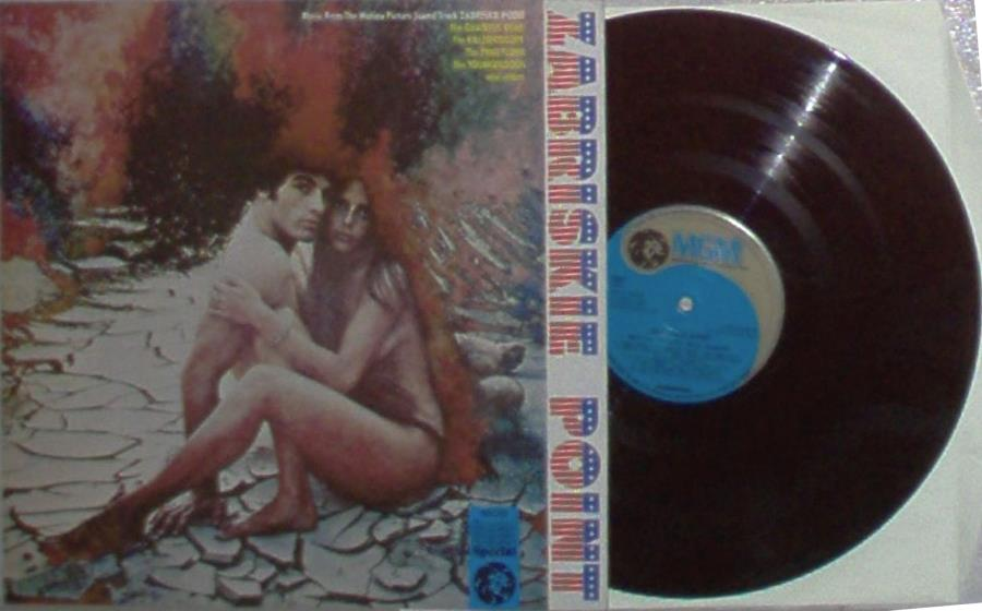 Pink Floyd Zabriskie Point(Uk 1970 'Mgm Special 11-Trk Ost Lp Full Ps) LP