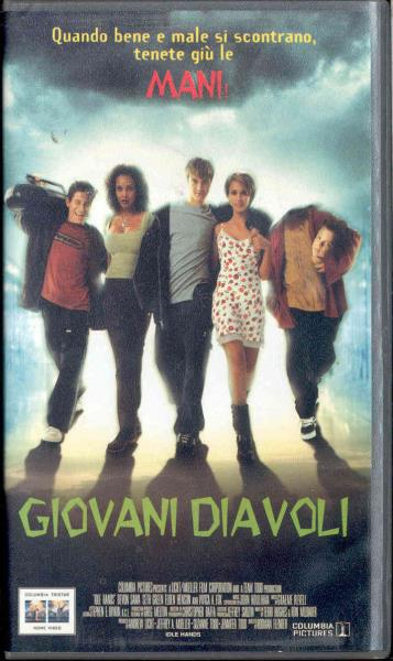 Blink 182 Giovani Diavoli(Italian 1999 Vhs Video Film Unique Italian Titles Ps) VIDEO:PAL(EUR)