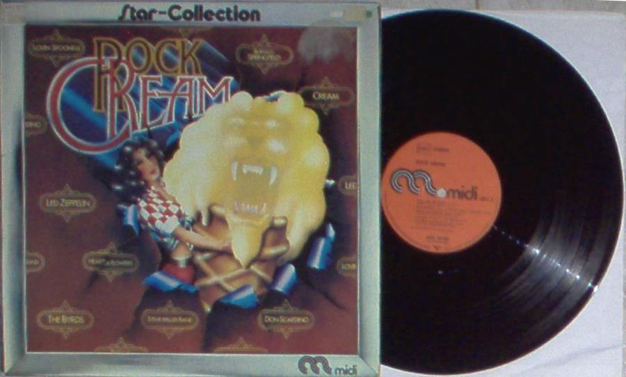 Byrds Rock Cream(German 1974 10-Trk V/A Lp Full Ps) LP