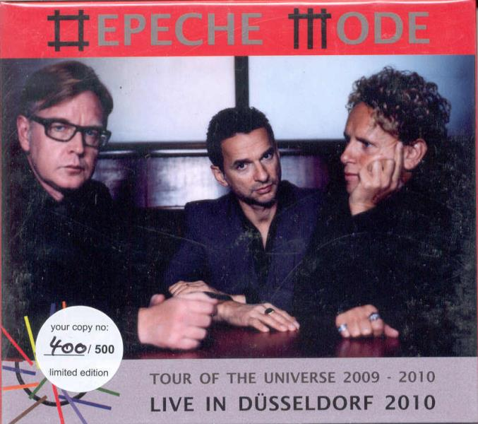 Depeche Mode Tour+Of+The+Universe+2009-2010(Esprit+Arena+Dusseldorf+De+27.02.2010) CD