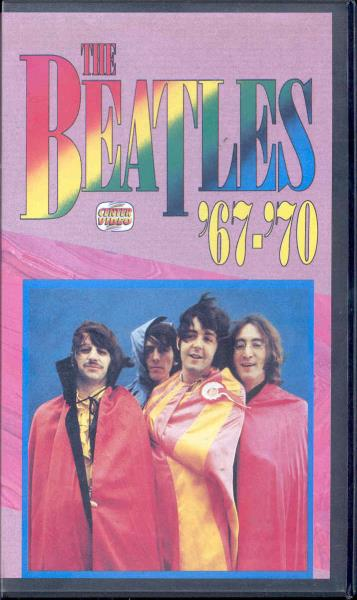 Beatles Beatles 67-70(Italian 80s Official Vhs Video Unique Ps) VIDEO:PAL(EUR)