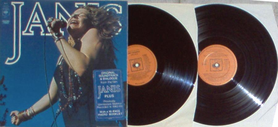 Janis Joplin Janis(Uk 1975 Original 30-Trk 2lp Stickered Gf Ps And Booklet And Insert) LP