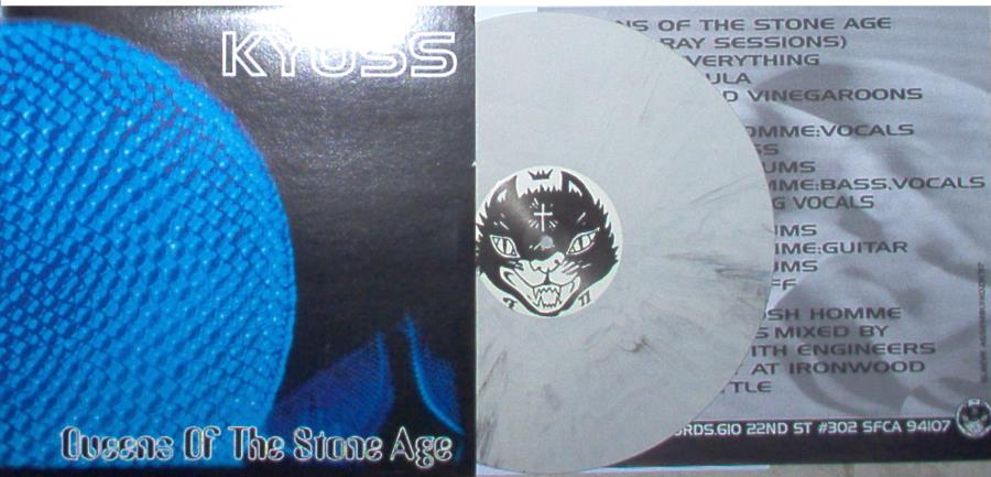 Kyuss Queens Of The Stone Age(Ltd Live Lp Grey Marbled Vinyl Full Great Ps And Insert) LP