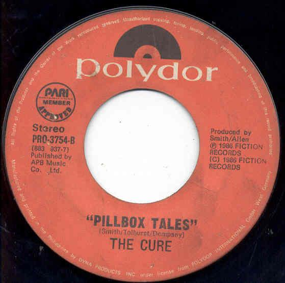 Cure Boys+Don't+Cry-New+Voice+New+Mix(Philippines+1986+7''+Promo) 7''