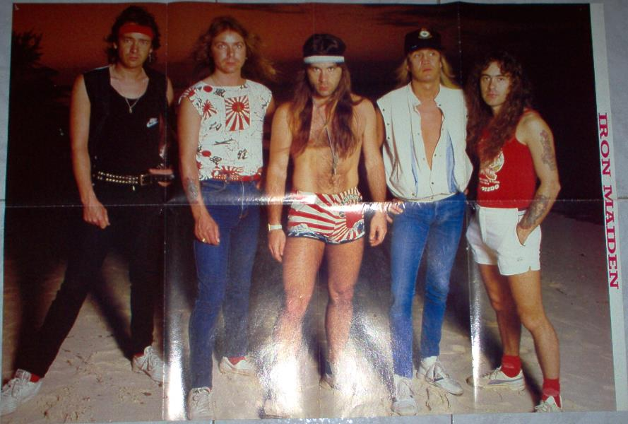 Iron Maiden Iron Maiden #1(Italian 80s Large Format Maiden Colour Poster) POSTER