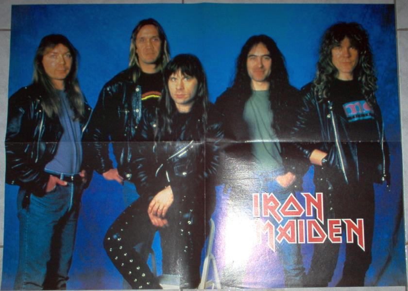 Iron Maiden Iron Maiden #2(Italian 80s Nice Size Colour Maiden Poster) POSTER