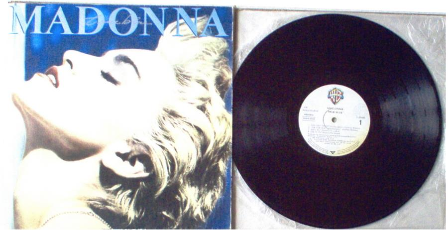 Madonna True+Blue(Turkish+1986+9-Trk+Lp+Full+Ps) LP