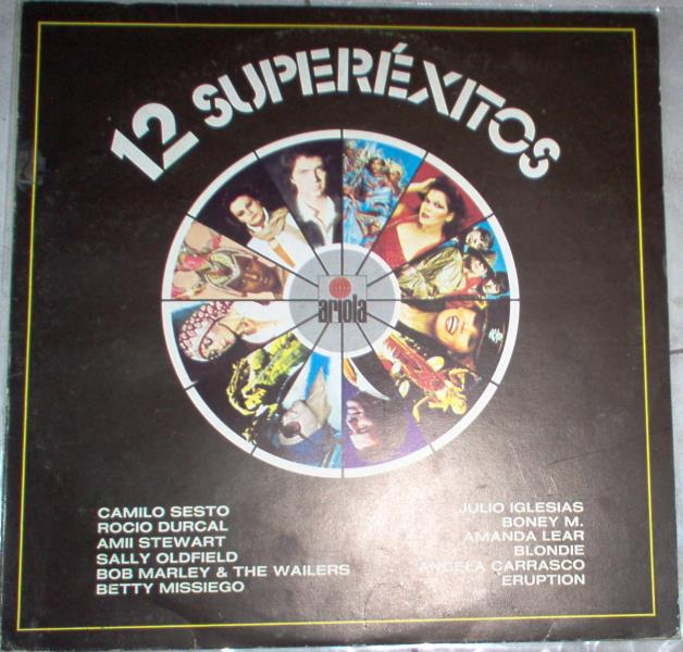 Lear,Amanda 12 Superexitos(Spanish 80s Lp Full Ps) LP