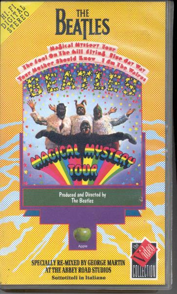 Beatles Magical Mistery Tour(Italian 1989 Vhs Full Ps) VIDEO:PAL(EUR)