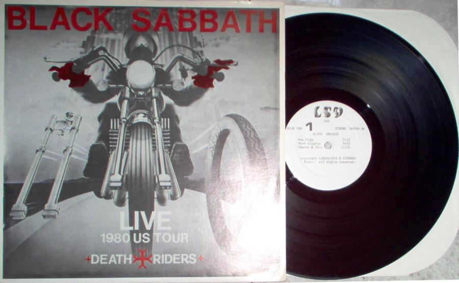 Black Sabbath Live 1980 Us Tour(Civic Center Providence 12 Aug. 1980) LP