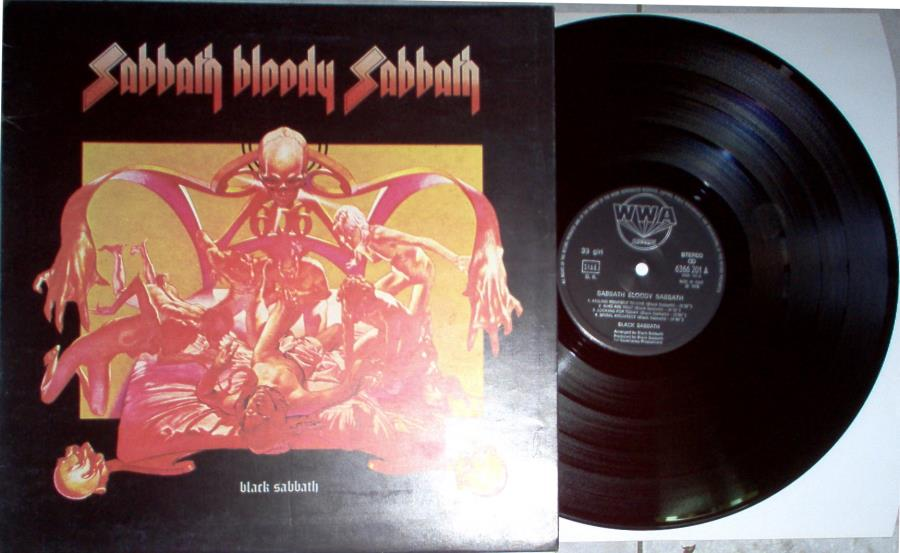 Black Sabbath Sabbath+Bloody+Sabbath(Italian+1973+Original+8-Trk+Lp+Full+Gf+Ps) LP