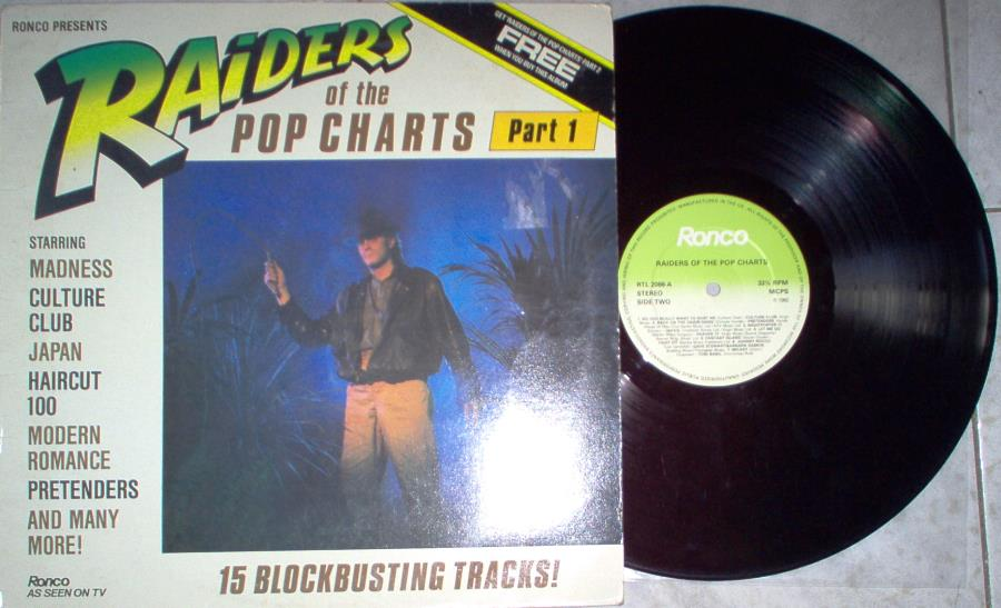 Pretenders Raiders Of The Pop Charts(Uk 1982 15-Trk V/A Lp Full Ps) LP