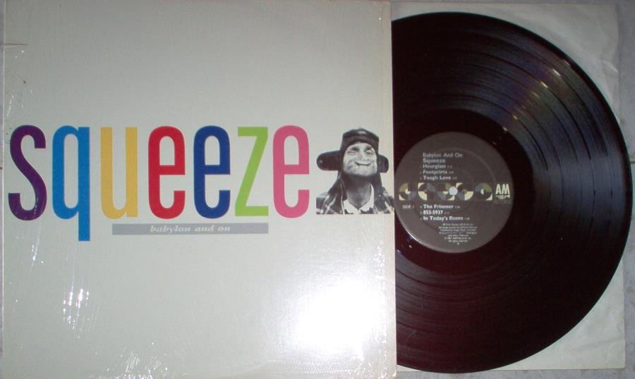 Squeeze Babylon+And+On(Usa+1987+12-Trk+Lp+Full+Ps) LP
