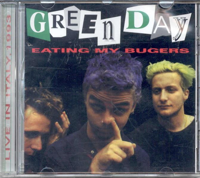 Green Day Eating My Bugers(Live In Italy 1993) CD