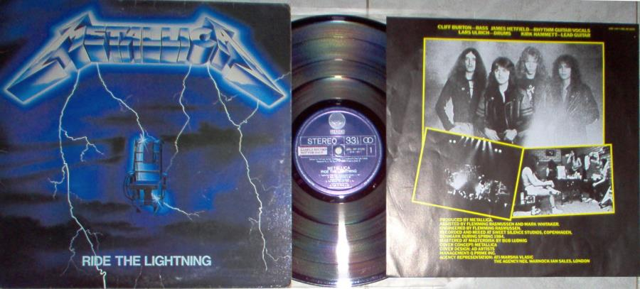 images of Ride the lighting(south korea 1990 promo 8-trk lp full ps+unique insert!) VERTIGO