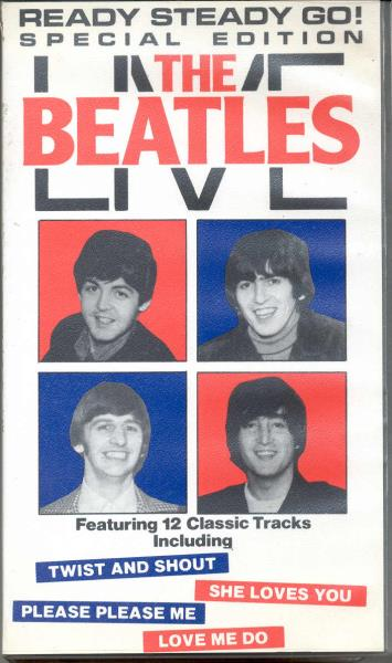 Beatles Beatles Live(Uk 1985 Ltd 12-Trk Llive Vhs Unique Ps) VIDEO:PAL(EUR)