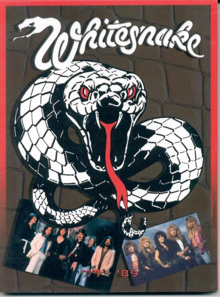 Whitesnake Whitesnake 78-89 VIDEO:DVD