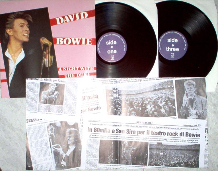 Bowie,David Night With The Duke(R.O.A.R. Lbl Ltd Live 2lp Ps And Insert) LP