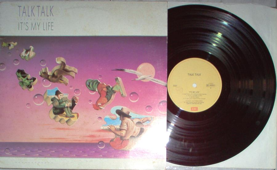 Talk Talk It's My Life(Italian 1984 9-Trk Lp Full Ps) LP