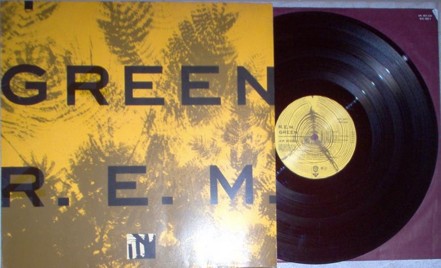 Rem Green(German+1988+11-Trk+Vinyl+Lp+Full+P/S+And+Inner+Slv) LP