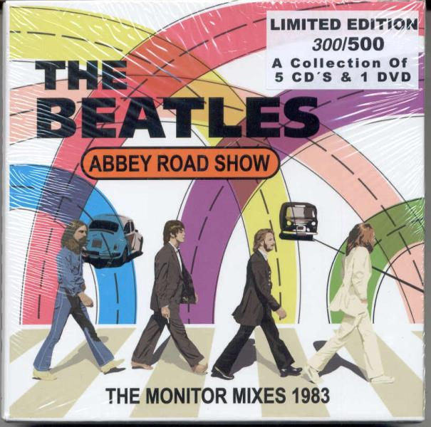 Beatles Abbey Road Show-The Monitor Mixes 1983(Bfb Lbl Ltd 500 Copies 5cd+Dvd