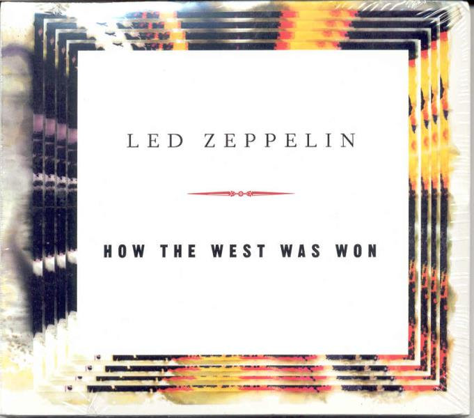 Led Zeppelin How The West As Won(Usa Promo-Only 5-Trk Cd Sampler Unique Card Gf Ps) CD