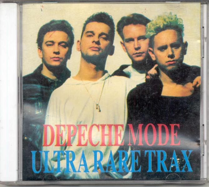 Depeche Mode Ultra+Rare+Trax(Euro+Ltd+12-Trk+Cd+Full+Ps) CD