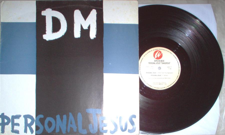 Depeche Mode Personal Jesus(Argentina 1990 Ltd 5-Trk 12'' Full Ps) 12''
