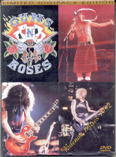 Guns N Roses Buenos Aires 1992(Estadio River Plate 5 Dec,1992) VIDEO:DVD