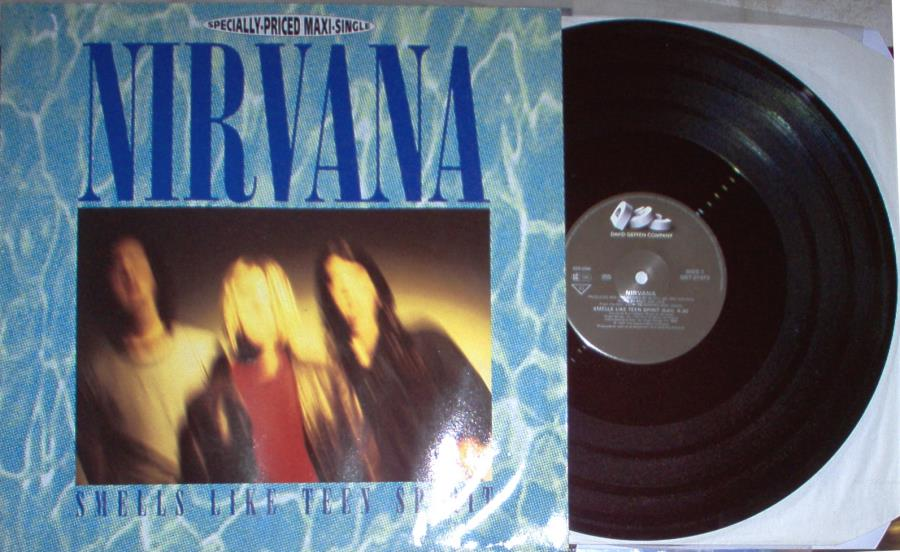 Nirvana Smells+Like+Teen+Spirit(German+1991+Ltd+3-Trk+12''+Different+Ps) 12''