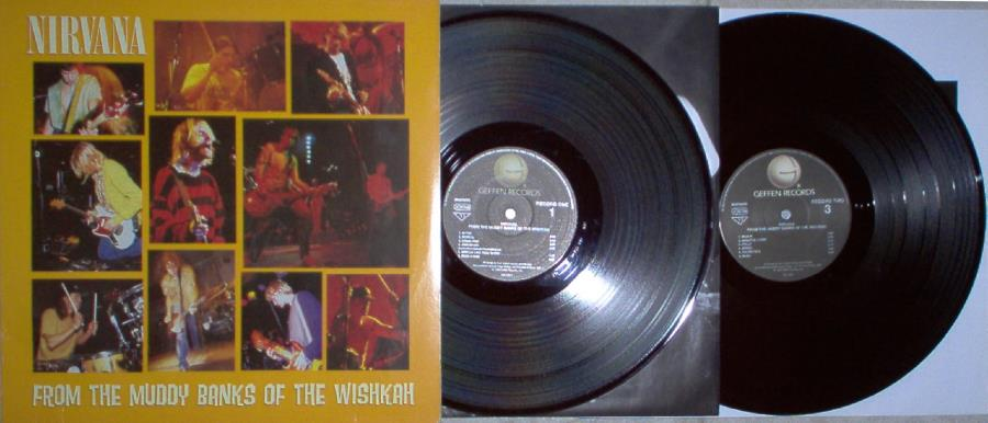 Nirvana From+The+Muddy+Banks+Of+The+Wishkah(Euro+1996+Ltd+3-Sided+17-Trk+2lpset+Ps+Inner LP