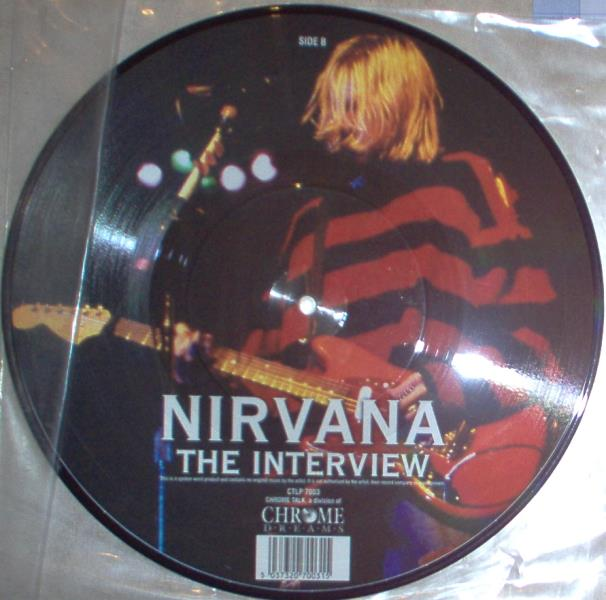 Nirvana Interview(Uk Ltd Interview 10'' Picture Disc) 10'':LP