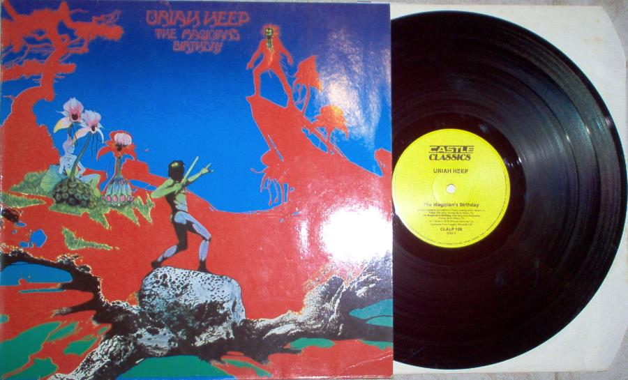 Uriah Heep Magician's+Birthday(German+1986+'Castle+Classic'+8-Trk+Lp+Full+Ps) LP