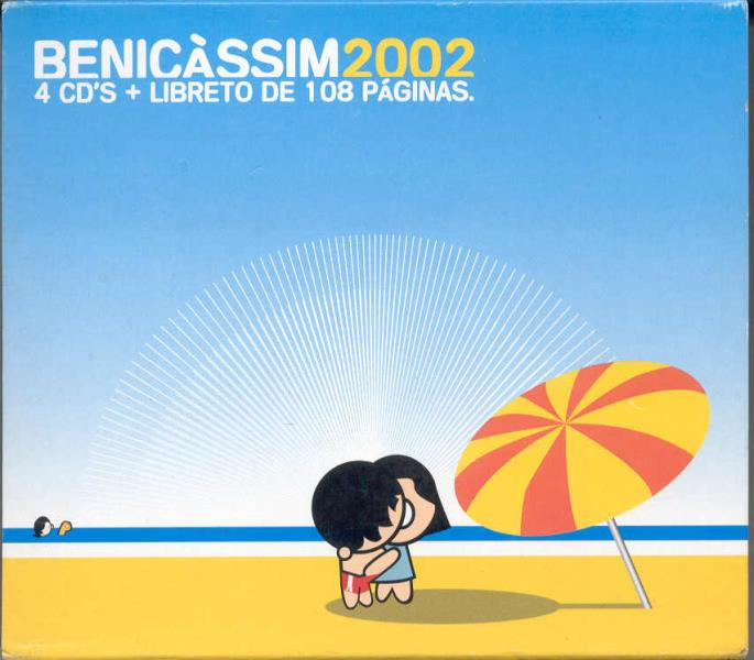 Cure Benicassim 2002(Spanish 2002 Ltd 62-Trk V/A 4cd Box Set And Booklet) 4CDBOX