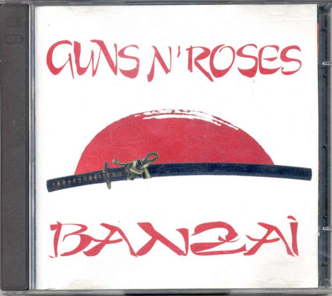 Guns N Roses Banzai(Tokyo Dome 22.02.1992)(Backstage Lbl 1992 Original 2cd Jewel Case Ps) CD