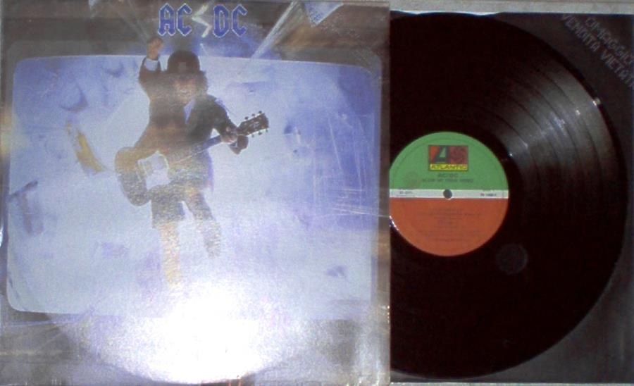 Ac/Dc Blow+Up+Your+Video(Italian+1988+10-Trk+Promo+Lp+Ps+And+Inner+Slv) LP