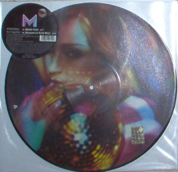 Madonna Get Together(Uk 2006 Ltd 2-Trk 12'' Picture Disc Stickered Slv) 12''