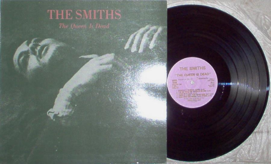 Smiths Queen Is Dead(Portugal 1986 10-Trk Lp Full Gf Ps) LP