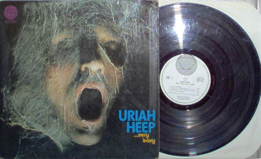 images of Very' eavy very' umble(french 1970 original 8-trk lp on vertigo lbl laminated gf VERTIGO