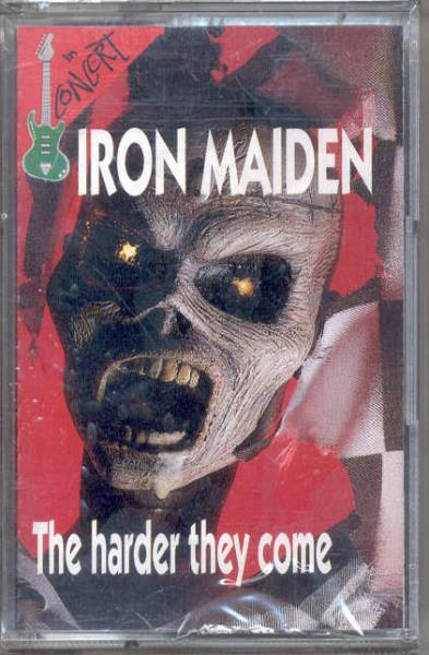 Iron Maiden Harder They Come(In Concert Lbl Ltd Live 7-Trk Cassette Unique Ps) CASSETTE