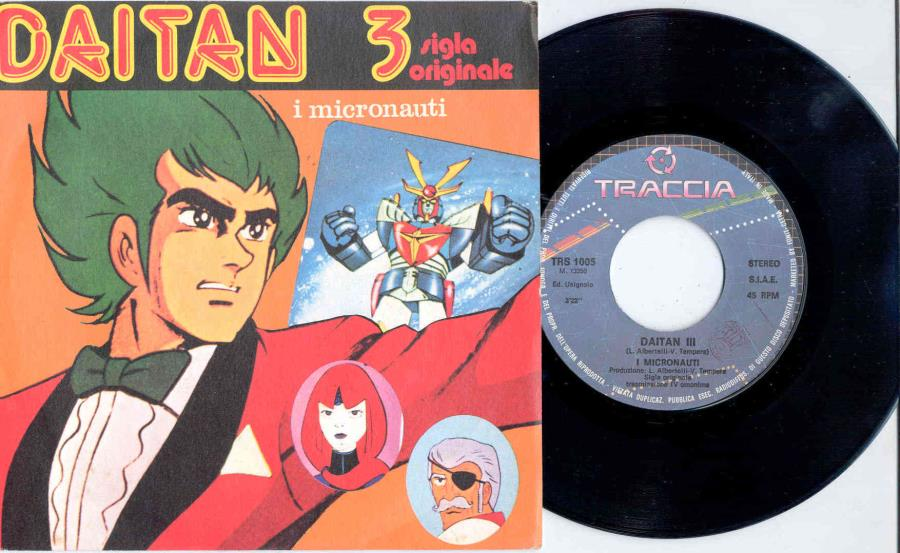 images of Daitan 3(italian 80s 'tv series' 2-trk 7 single great full ps) FONIT CETRA TRACCIA